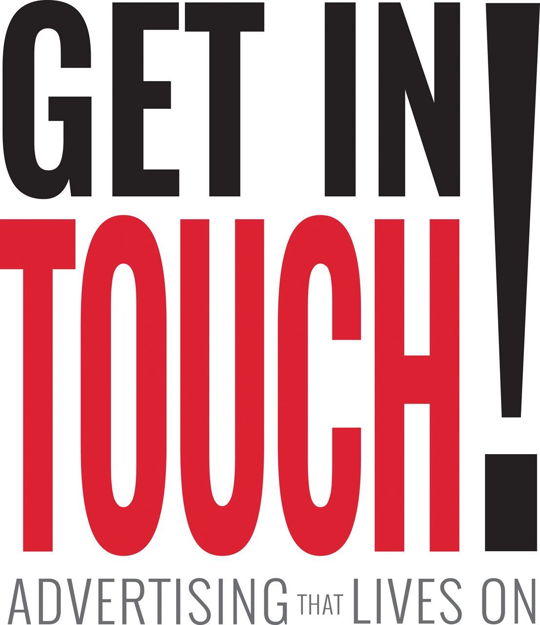 get in touch logo